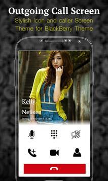 i Caller Screen for BlackBerry apk screenshot