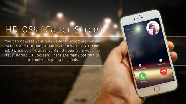 i Call Screen Dialer 6S Theme apk screenshot