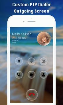 PIP Full Screen Mobile Dialer poster