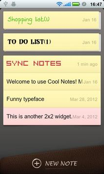Cool Note Notepad & Emoji Font poster