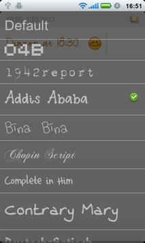 Cool Note Notepad & Emoji Font apk screenshot