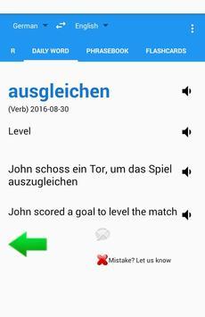 German English Translator Free apk screenshot