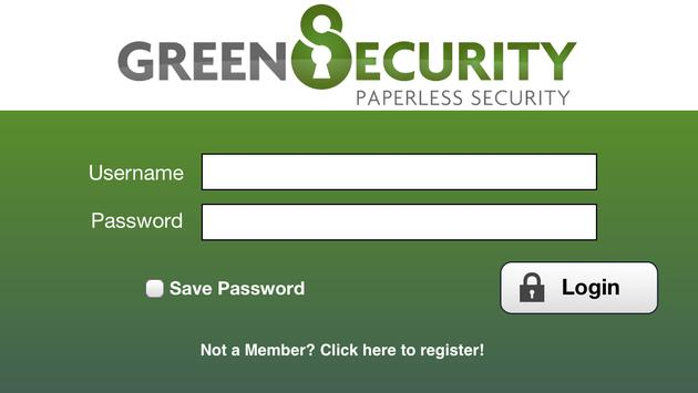 Green Security apk screenshot