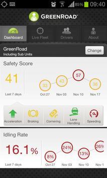 GreenRoad Central Mobile apk screenshot
