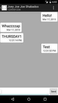 VOIP2SMS apk screenshot