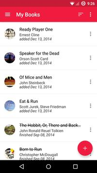 To Read – Reading List apk screenshot