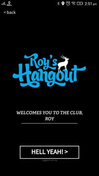 Roy's Hangout poster
