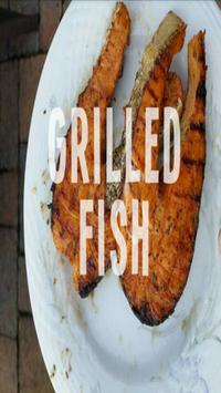Grilled Fish Recipes Complete poster