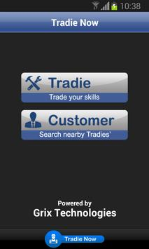 Tradie Now poster