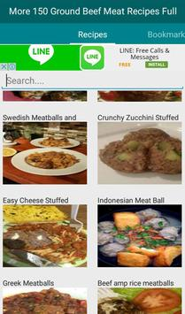 Ground Beef Meatball Recipes apk screenshot