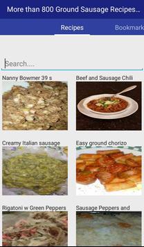 Ground Sausage Recipes apk screenshot