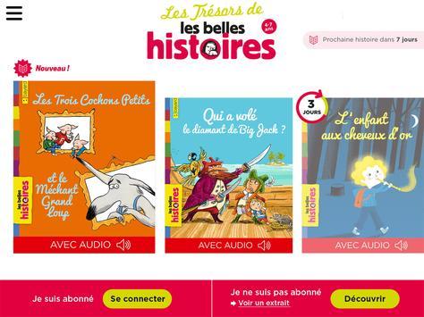 Les Trésors Belles Histoires apk screenshot