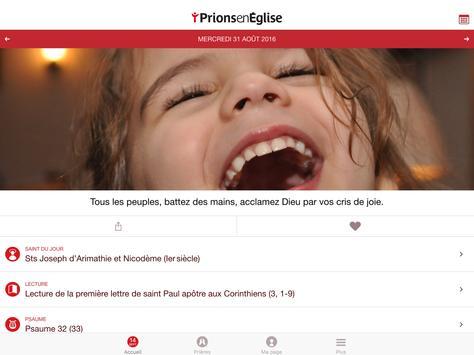 Prions en Eglise apk screenshot