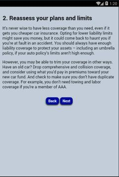 Cheap Auto Insurance poster