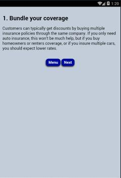 Cheap Auto Insurance apk screenshot