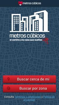 Metros Cúbicos poster