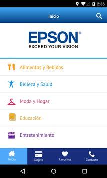 Beneficios EPSON poster