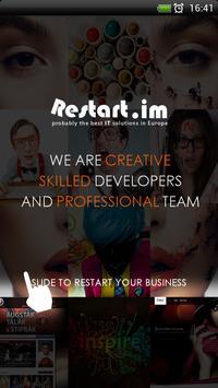 Restart.im - Apps for Business poster