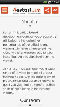 Restart.im - Apps for Business apk screenshot
