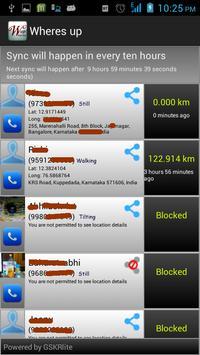 Wheres app apk screenshot