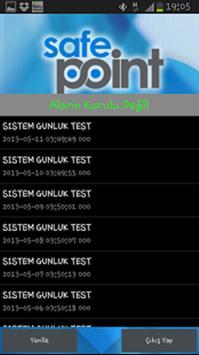 Safe Point apk screenshot