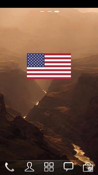 USA Flags Widget apk screenshot