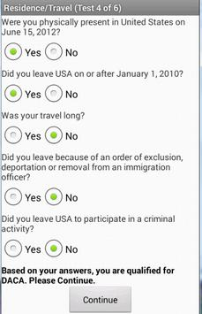 DACA - 2014/2015 (English) apk screenshot