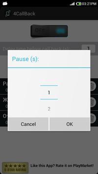4CallBack(free) - call back apk screenshot
