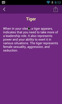 Dream Dictionary Free apk screenshot