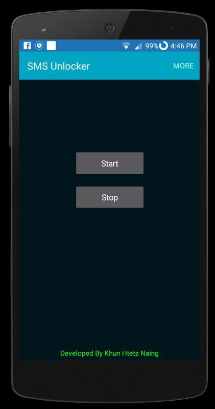 SMS Unlocker (All Screen Lock) APK Download - Free Tools
