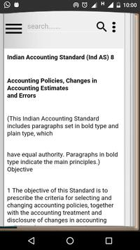 Ind-AS Accounting Standards poster