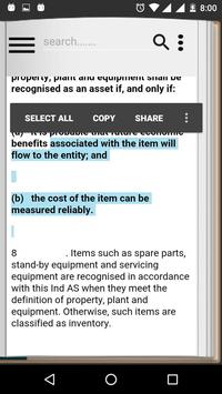 Ind-AS Accounting Standards apk screenshot