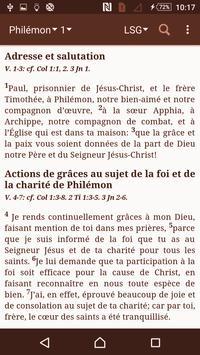 La Bible d'étude Segond 21 apk screenshot