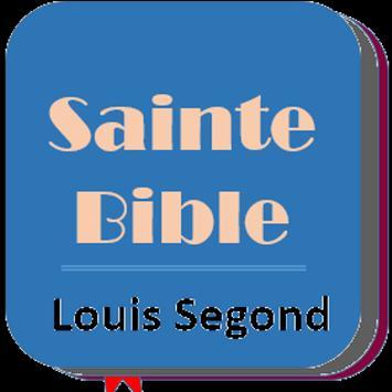 Bible en Français Louis Segond poster