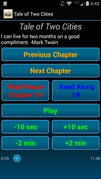A Tale of Two Cities audio/txt apk screenshot