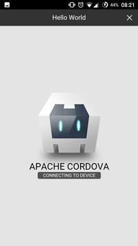 Create apps with Cordova apk screenshot