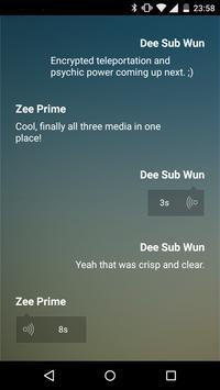 Hufu-P2P Secure Chat apk screenshot