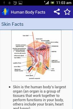 Human Body Facts 4 Kids apk screenshot