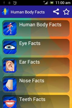 Human Body Facts 4 Kids poster
