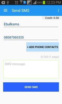 EbulkSMS - Bulk SMS Nigeria apk screenshot