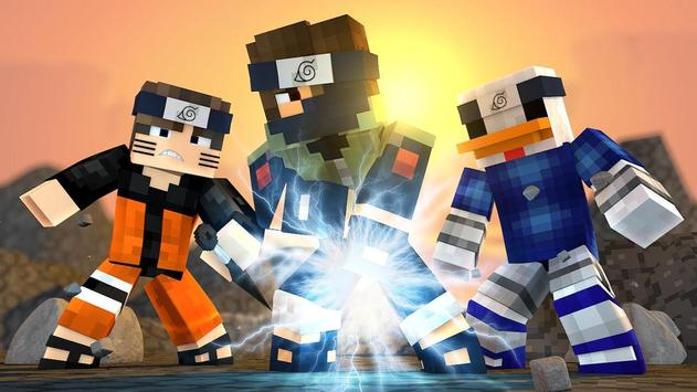 Skins for MinecraftPE - Naruto poster