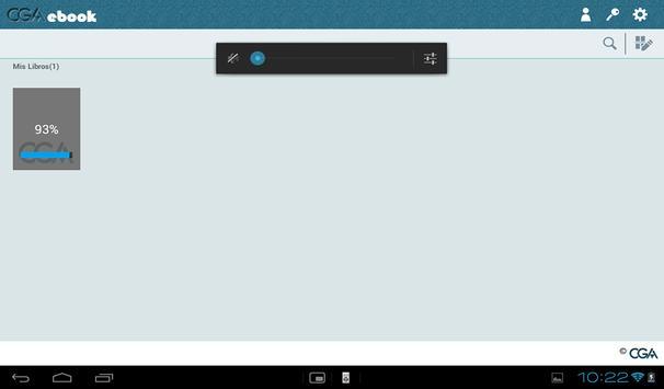 CGAebook apk screenshot