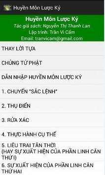 Huyen Mon Luoc Ky apk screenshot