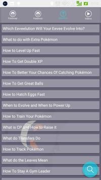 Guide Pokémon Go - Poké map apk screenshot