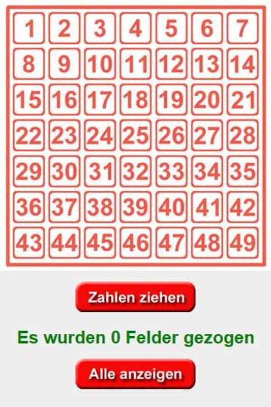 Lottozahlen App Android
