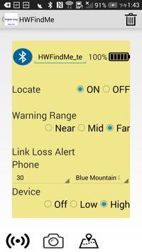 HWFindMe apk screenshot