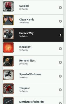 Achievements for Dishonored apk screenshot