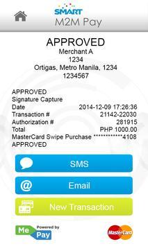 Smart M2M Pay apk screenshot