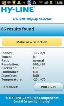 HY-LINE Display Selector apk screenshot
