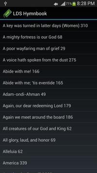 LDS Hymnbook apk screenshot
